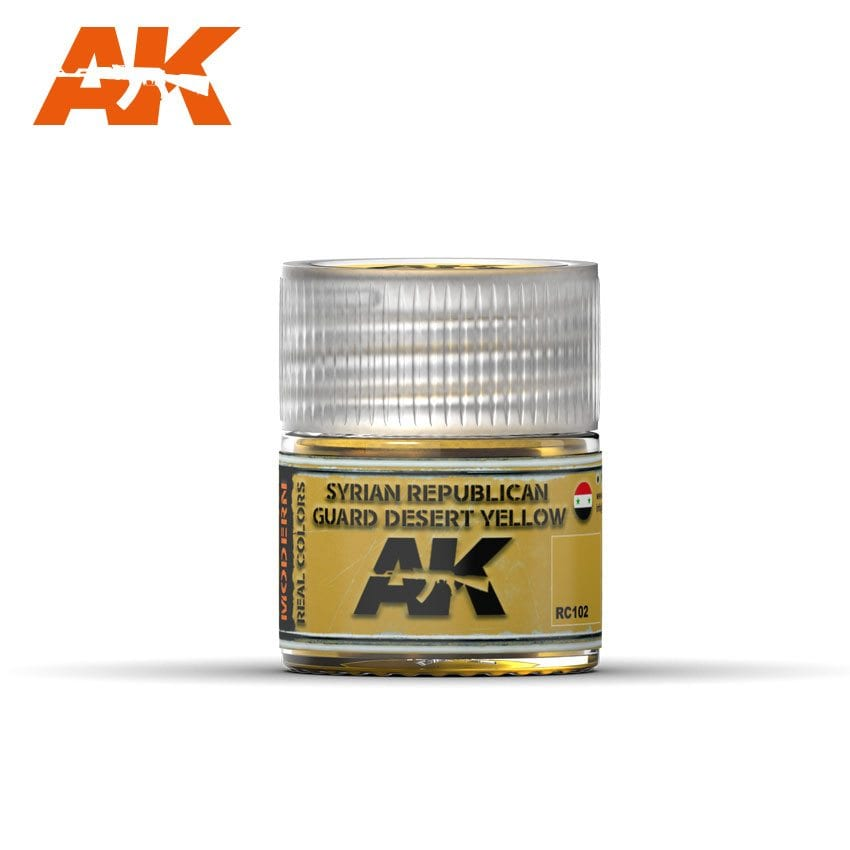 AK Interactive Syrian Republican Guard Desert Yellow 10ml