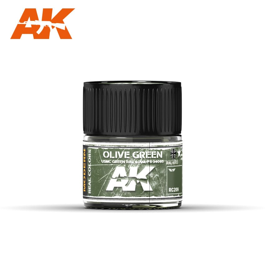 AK Interactive Olive Green/USMC Green RAL 6003/FS34095 10ml