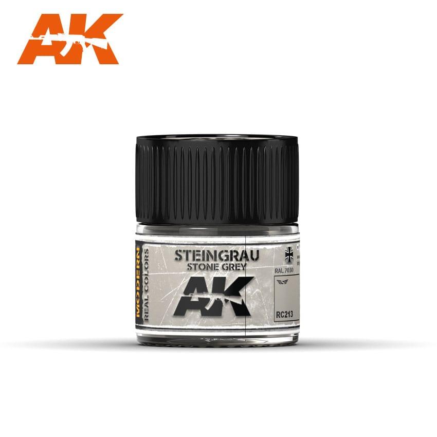 AK Interactive Steingrau-Stone Grey RAL 7030 10ml