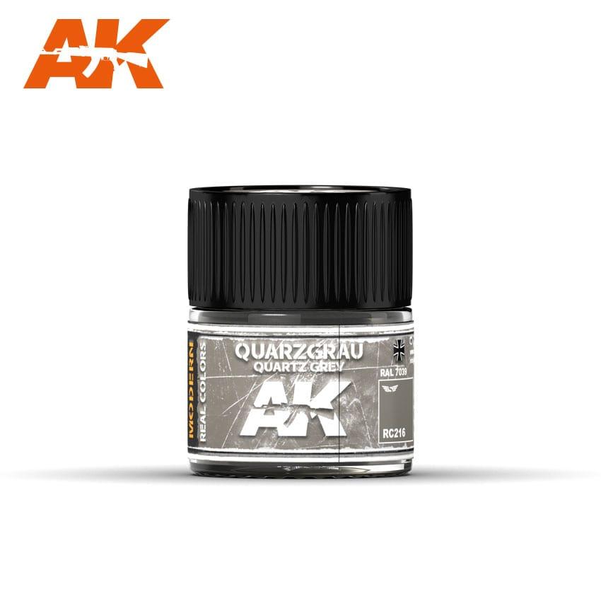 AK Interactive Quarzgrau-Quartz Grey RAL 7039 10ml