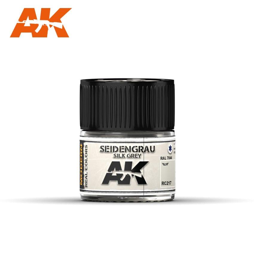 AK Interactive Seidengrau-Silk Grey RAL 7044