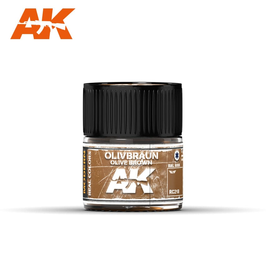 AK Interactive Olive Braun-Olive Brown RAL 8008 10ml