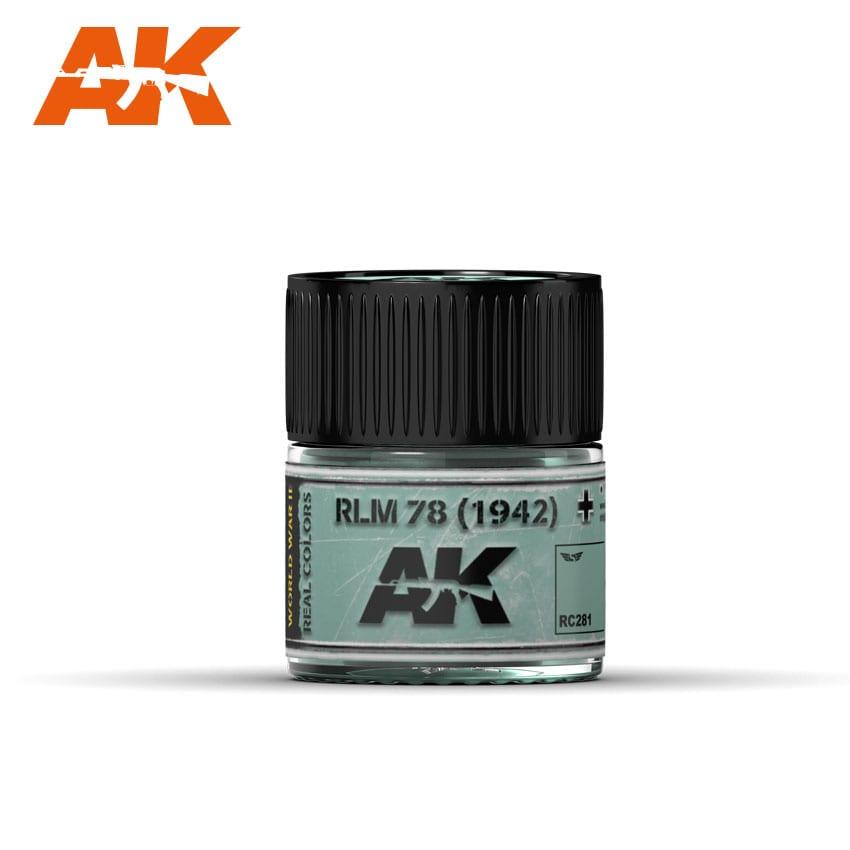 AK Interactive Real Colors RLM 78 (1942)
