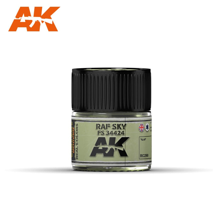 AK Interactive Real Colors RAF SKY / FS 34424 - 10ml