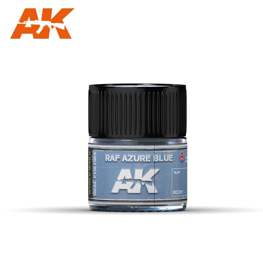 AK Interactive Real Colors RAF Azure Blue 10ml