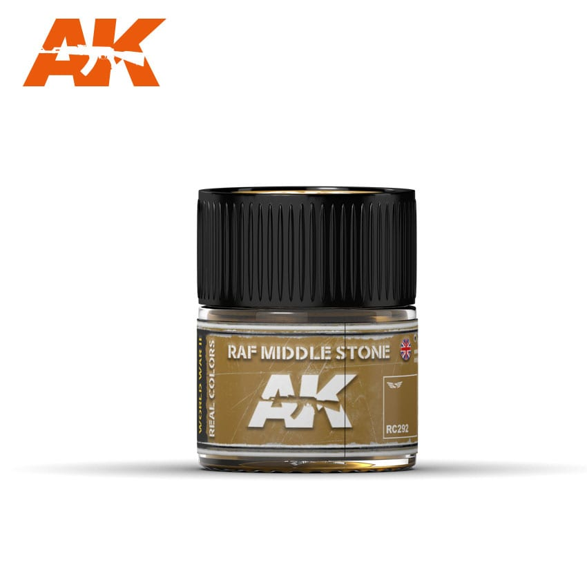 AK Interactive Real Colors RAF Middle Stone 10ml