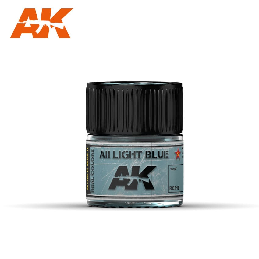 AK Interactive Real Colors AII Light Blue 10ml