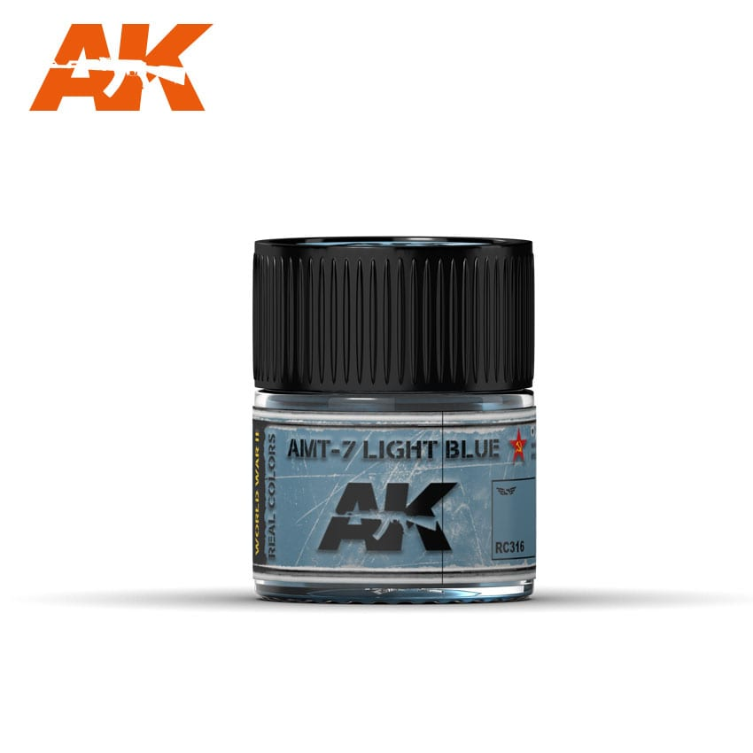 AK Interactive Real Colors AMT-7 Light Blue 10ml