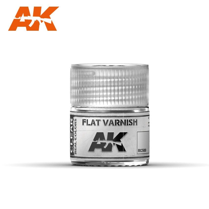 AK Interactive Flat Varnish 10ml