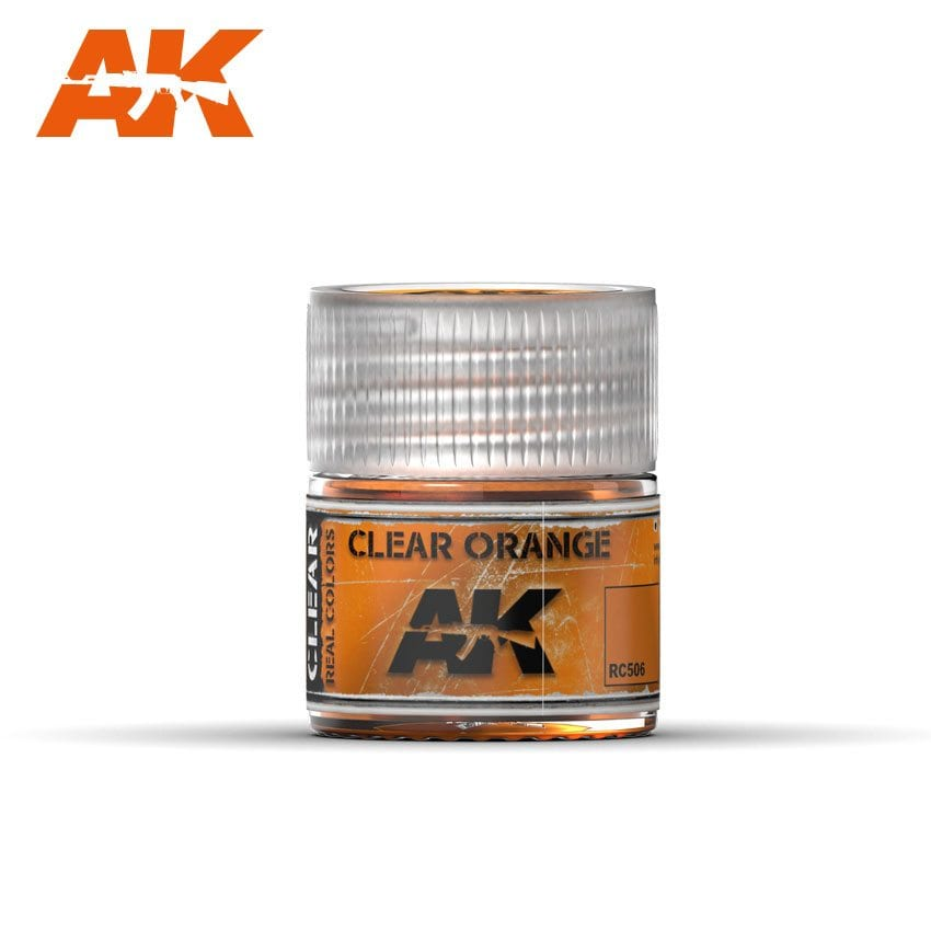 AK Interactive Real Colors Clear Orange 10ml