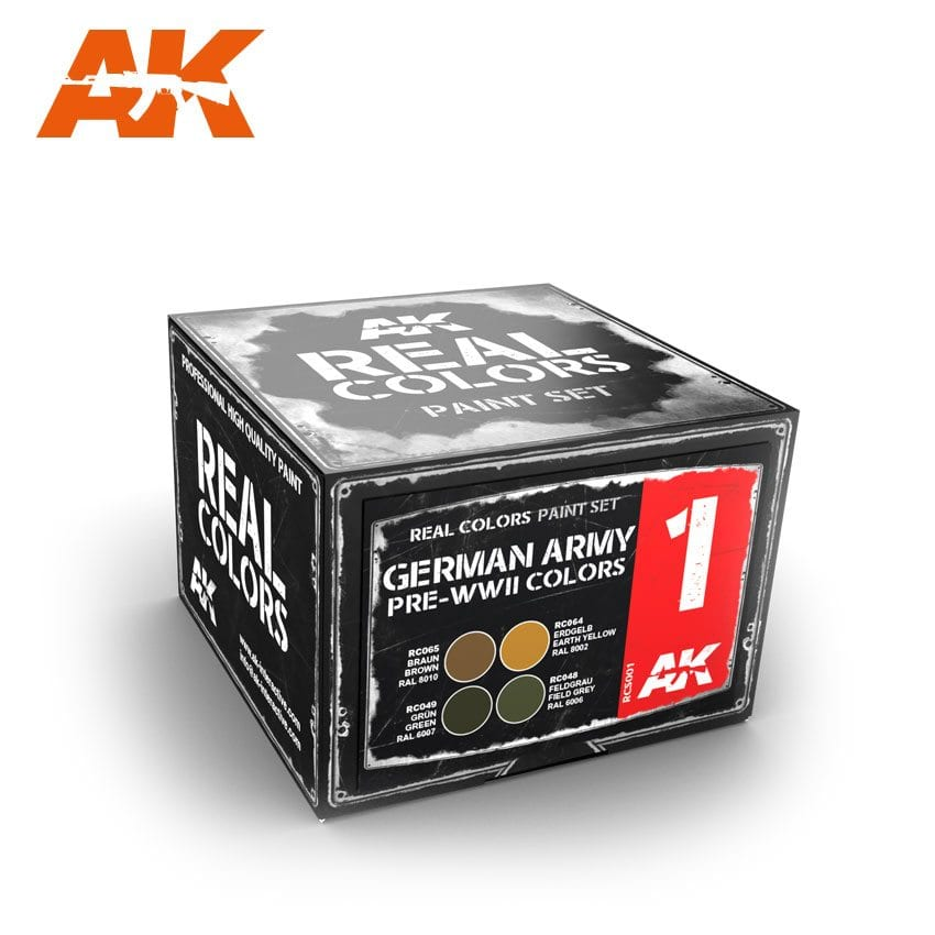 AK Interactive German Army Pre-WWII Colors Set