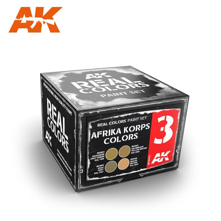 AK Interactive Afrika Korps Colors Set