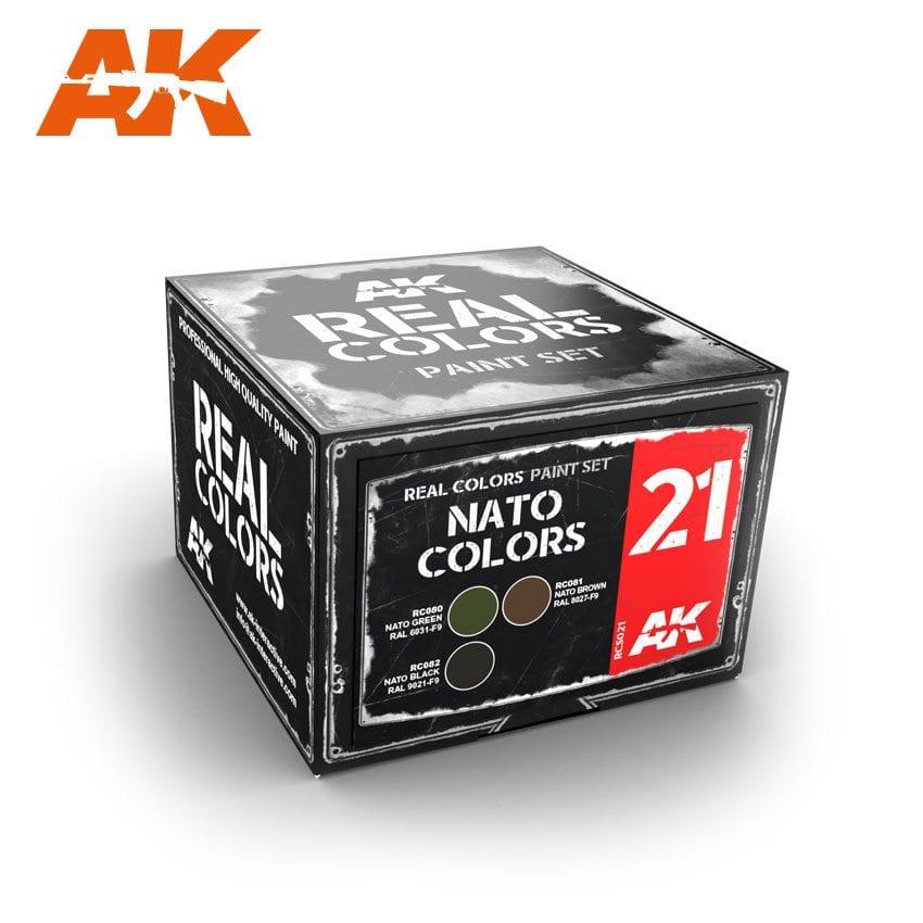 AK Interactive NATO Colors Set