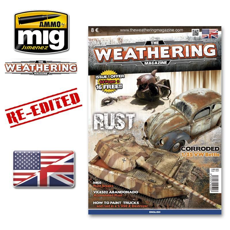 Ammo Mig The Weathering Magazine No 1: Rust (English)