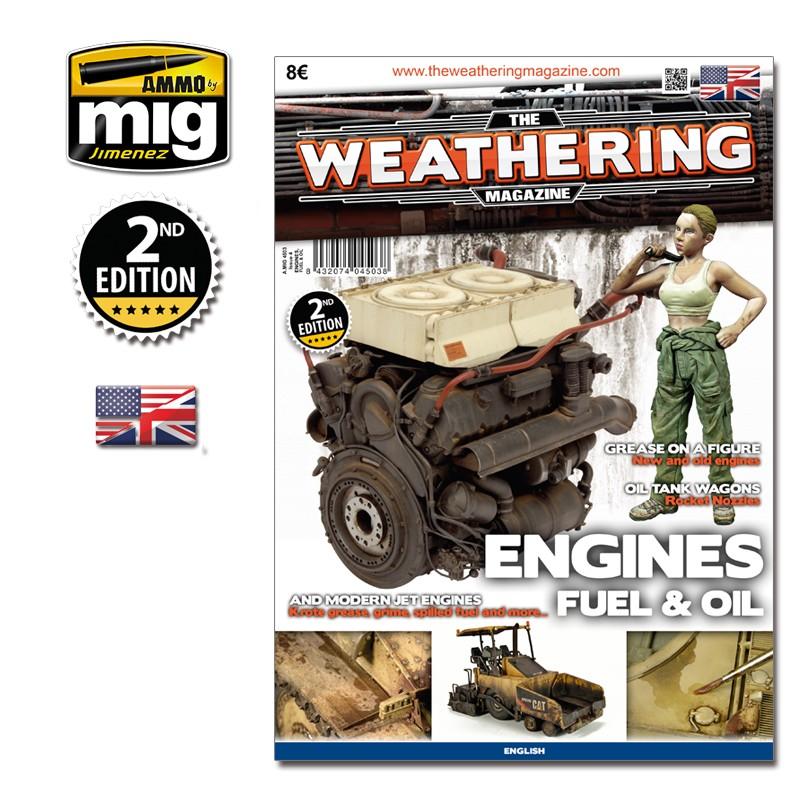 Ammo Mig The Weathering Magazine No 4: Engine, Grease & Oil (English)