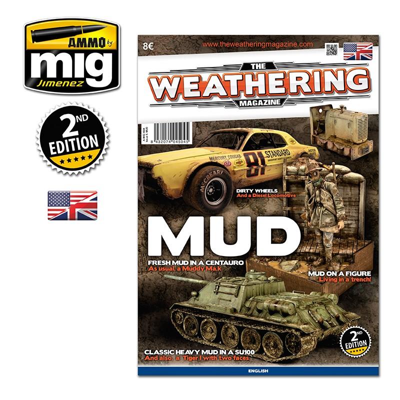 Ammo Mig The Weathering Magazine No 5: Mud (English)