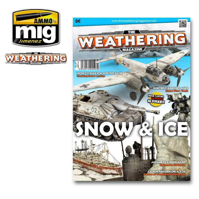 Ammo Mig The Weathering Magazine No 7: Ice & Snow (English)