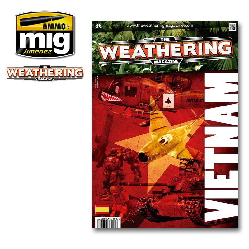 Ammo Mig The Weathering Magazine No 8: Vietnam (English)