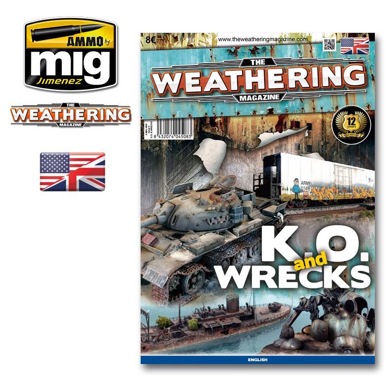 Ammo Mig The Weathering Magazine No 9: K.O. & Wrecks (English)
