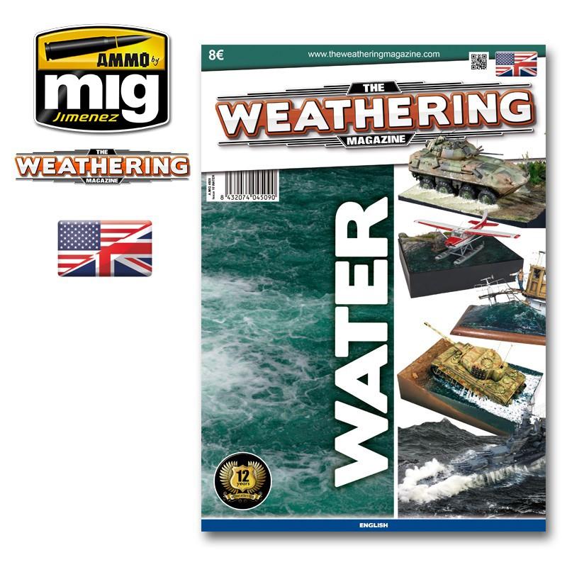 Ammo Mig The Weathering Magazine No 10: Water (English)