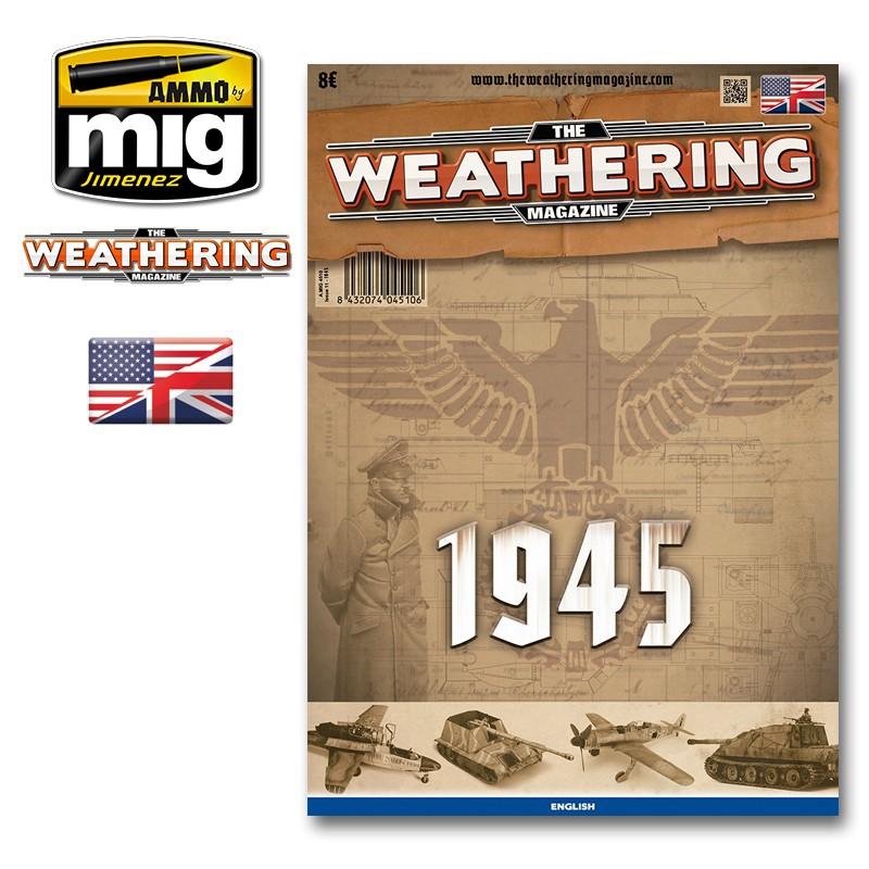 Ammo Mig The Weathering Magazine No 11: 1945 (English)