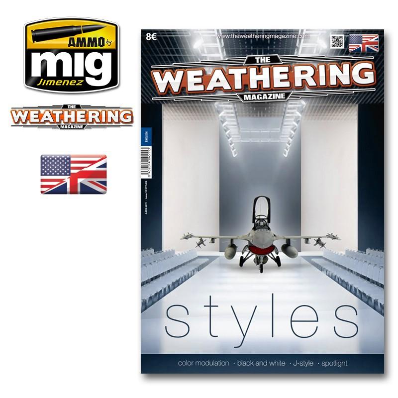 Ammo Mig The Weathering Magazine No 12: Styles (English)