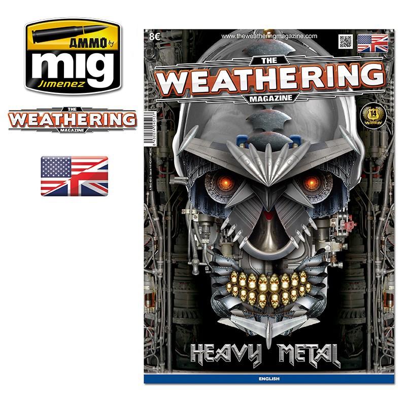 Ammo Mig The Weathering Magazine No 14: Heavy Metal (English)