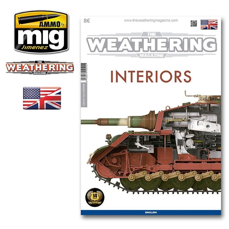 Ammo Mig The Weathering Magazine No 16: Interiors (English)