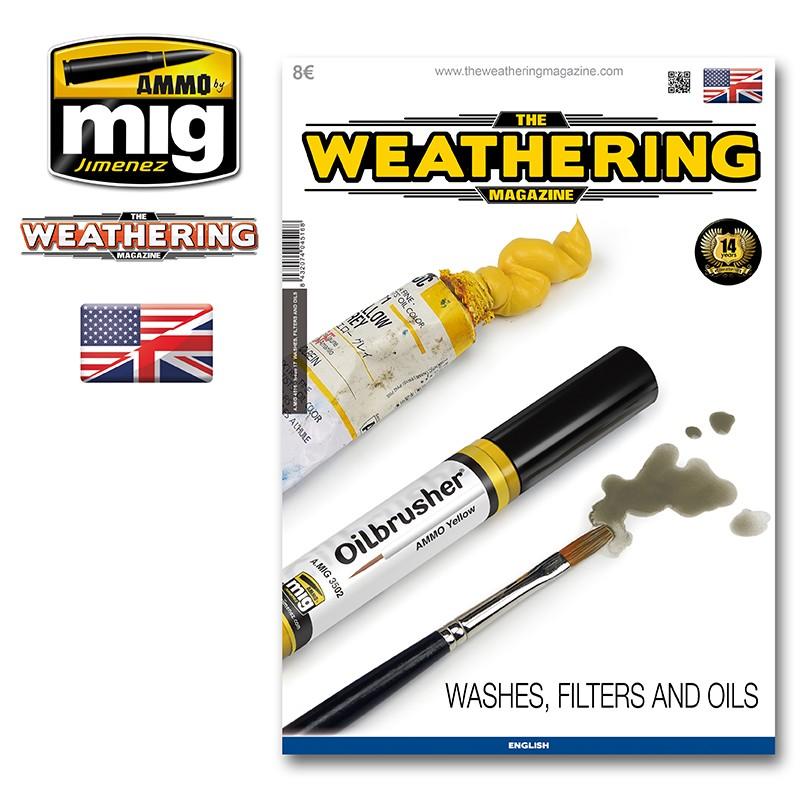 Ammo Mig The Weathering Magazine No 17: Washes, Filters & Oils (English)