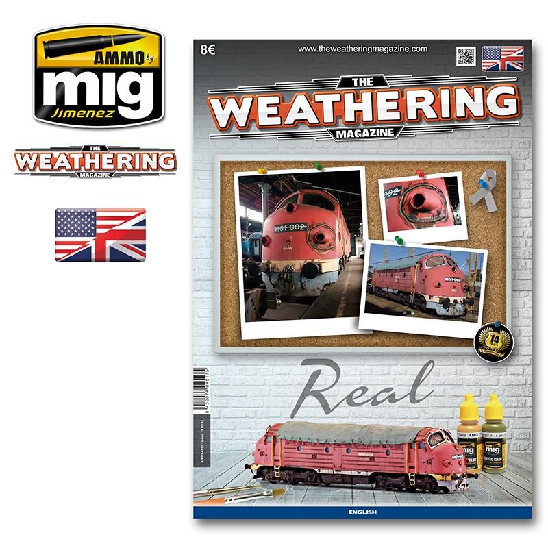 Ammo Mig The Weathering Magazine No 18: Real (English)