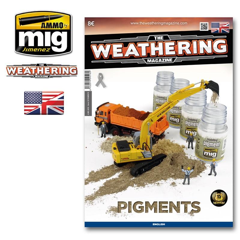 Ammo Mig The Weathering Magazine No 19: Pigments (English)