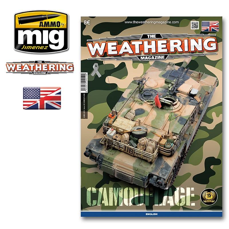 Ammo Mig The Weathering Magazine No 20: Camouflage (English)