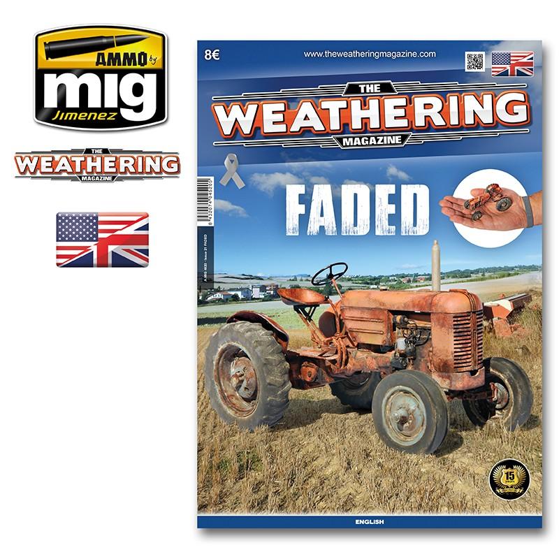 Ammo Mig The Weathering Magazine No 21: Faded (English)