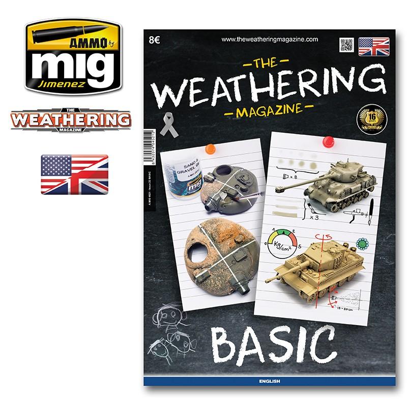 Ammo Mig The Weathering Magazine No 22: Basics (English)