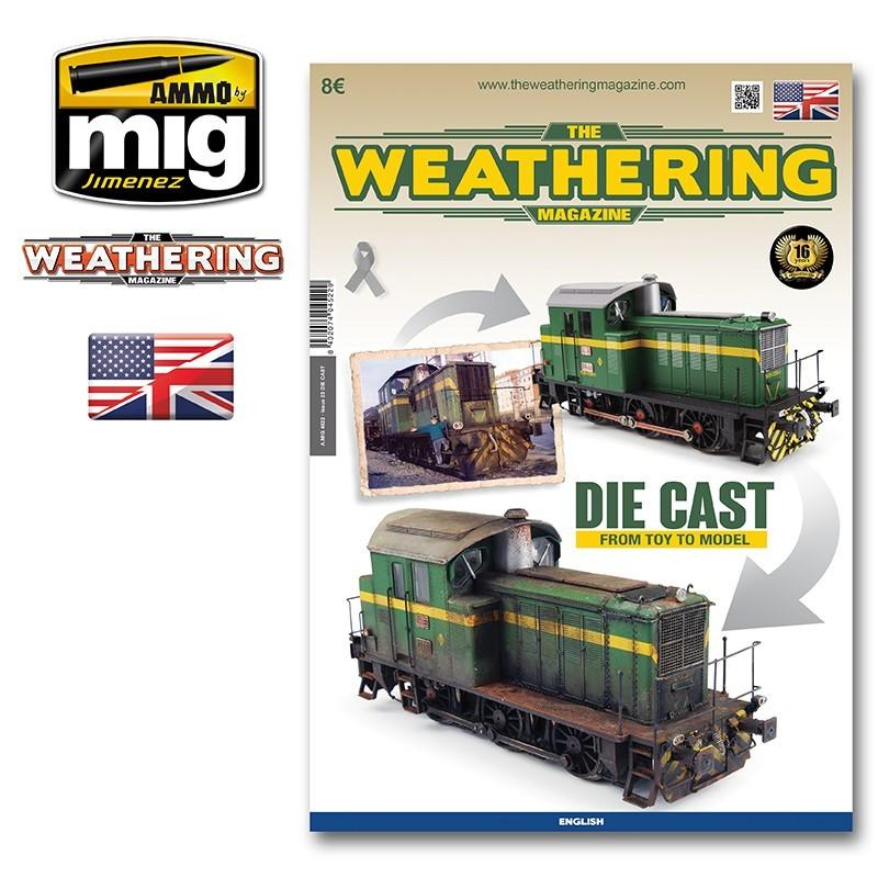 Ammo Mig The Weathering Magazine No 23: Die Cast (English)