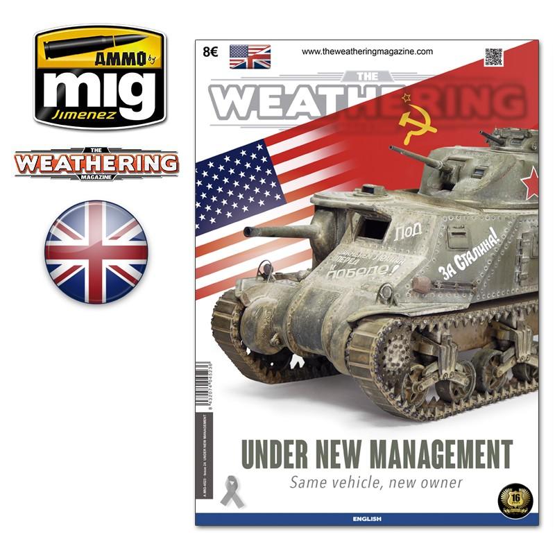 Ammo Mig The Weathering Magazine No 24: Under New Management (English)