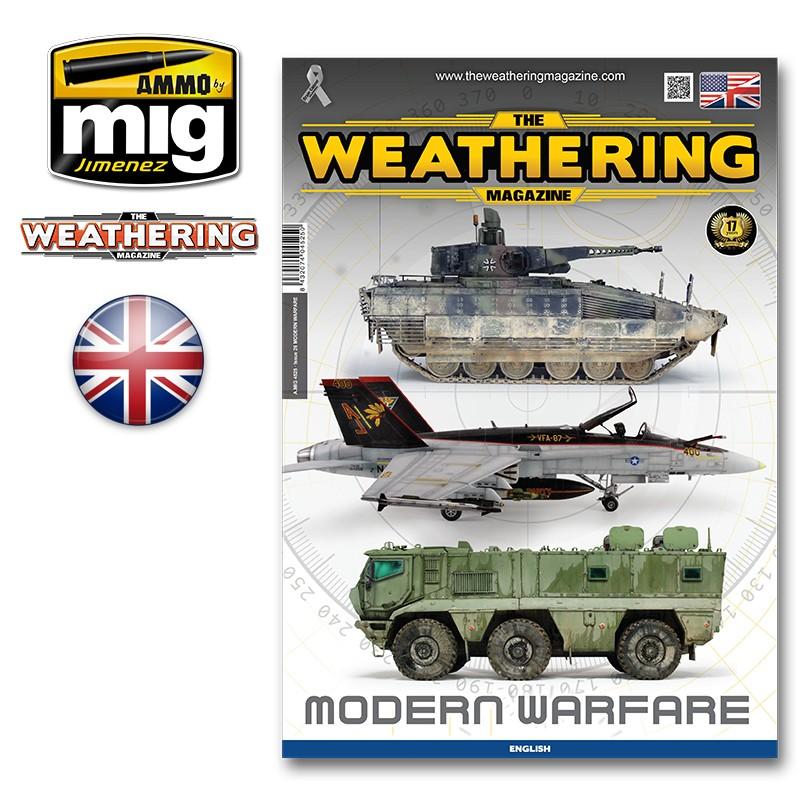 Ammo Mig The Weathering Magazine No 26: Modern Warfare (English)