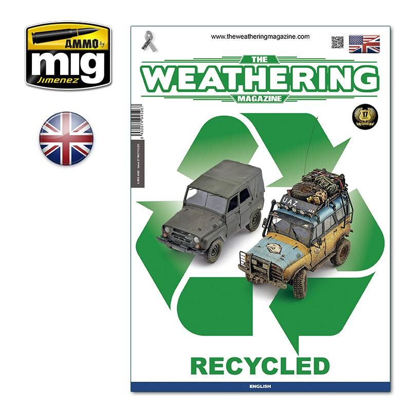 Ammo Mig The Weathering Magazine No 27: Recycled (English)