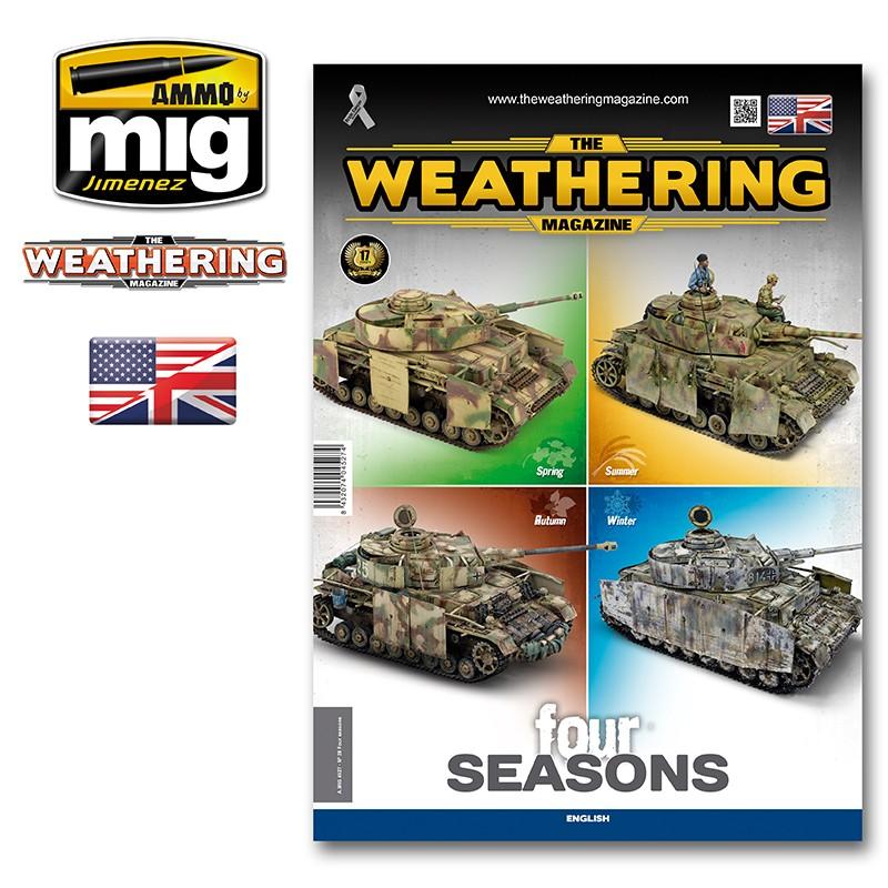 Ammo Mig The Weathering Magazine No 28: Four Seasons (English)