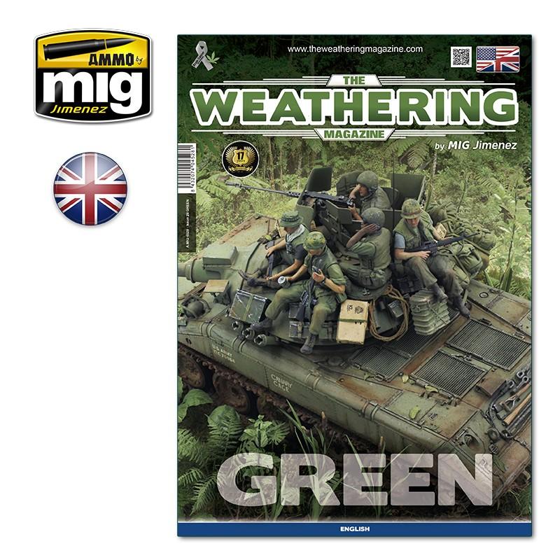 Ammo Mig The Weathering Magazine No 29: Green (English)