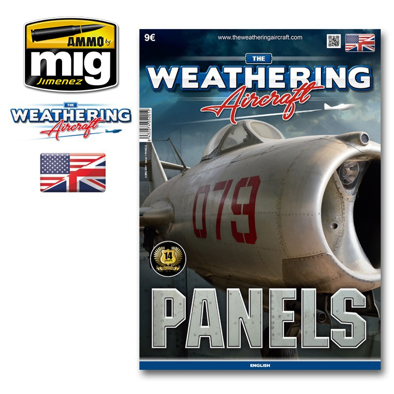 Ammo Mig The Weathering Aircraft Issue 01: Panels (English)