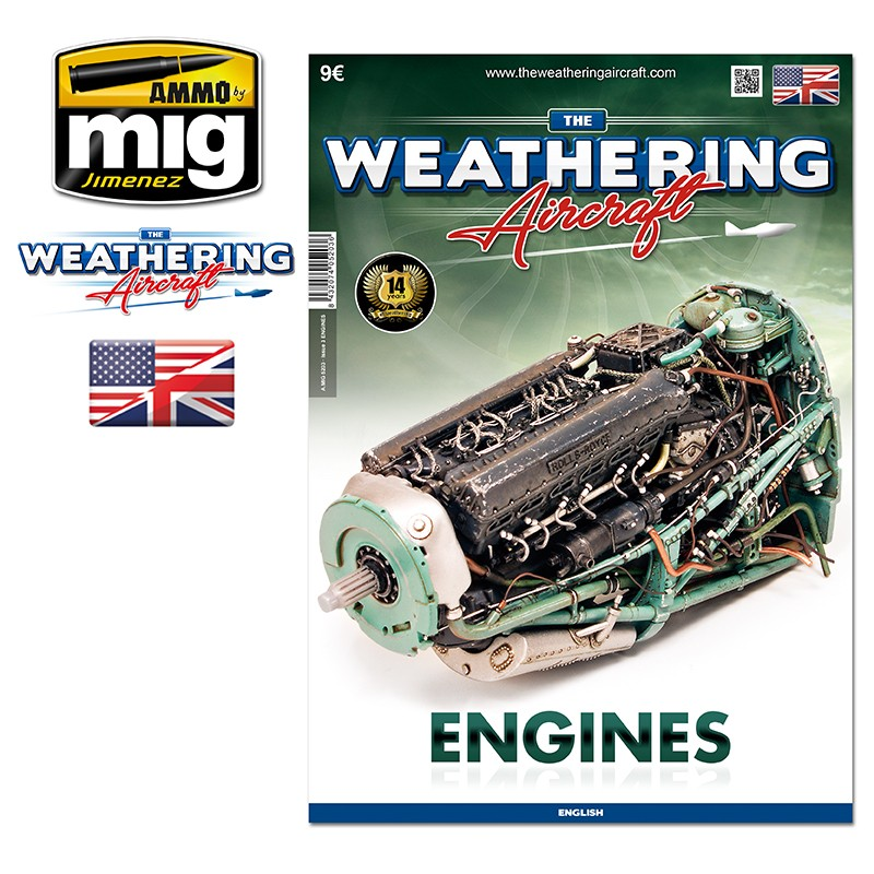 Ammo Mig The Weathering Aircraft Issue 03: Engines (English)