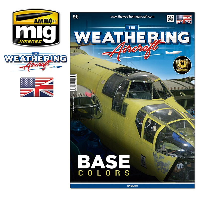 Ammo Mig The Weathering Aircraft Issue 04: Color and Base Colors (English)