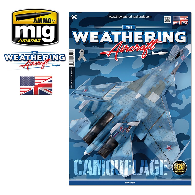 Ammo Mig The Weathering Aircraft Issue 06: Camouflage (English)