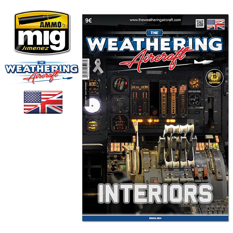 Ammo Mig The Weathering Aircraft Issue 07: Interiors (English)