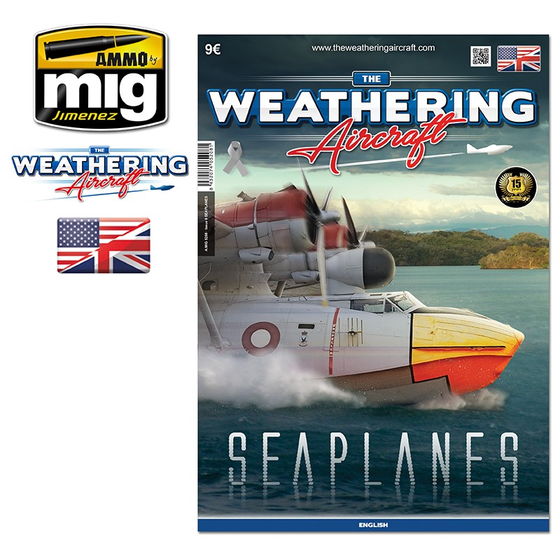 Ammo Mig The Weathering Aircraft Issue 08: Seaplanes (English)