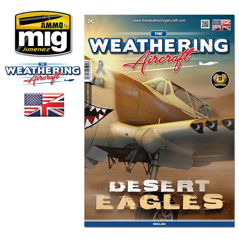 Ammo Mig The Weathering Aircraft Issue 09: Desert Eagles (English)