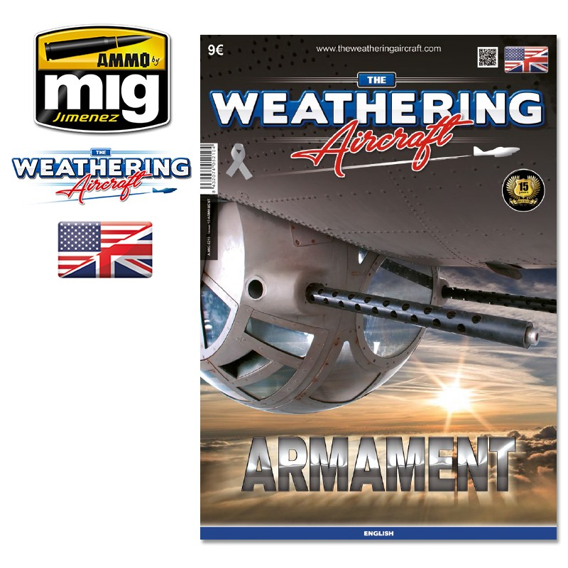 Ammo Mig The Weathering Aircraft Issue 10: Armament (English)