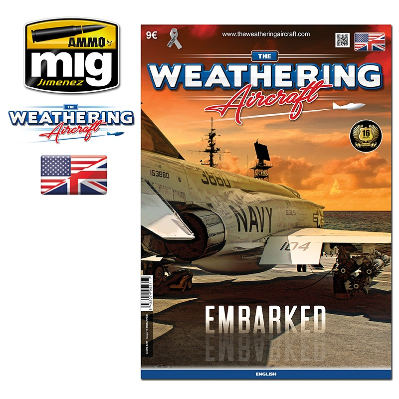 Ammo Mig The Weathering Aircraft Issue 11: Embarked (English)