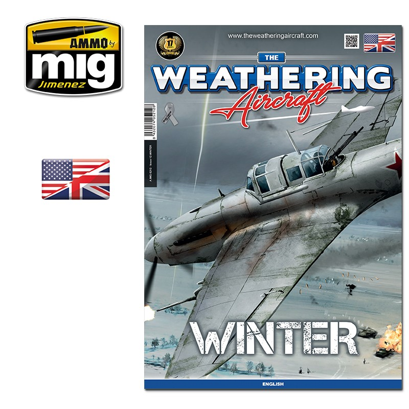 Ammo Mig The Weathering Aircraft Issue 12: Winter (English)